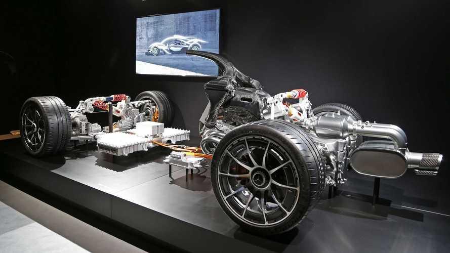 Mercedes-AMG Project One sistema híbrido