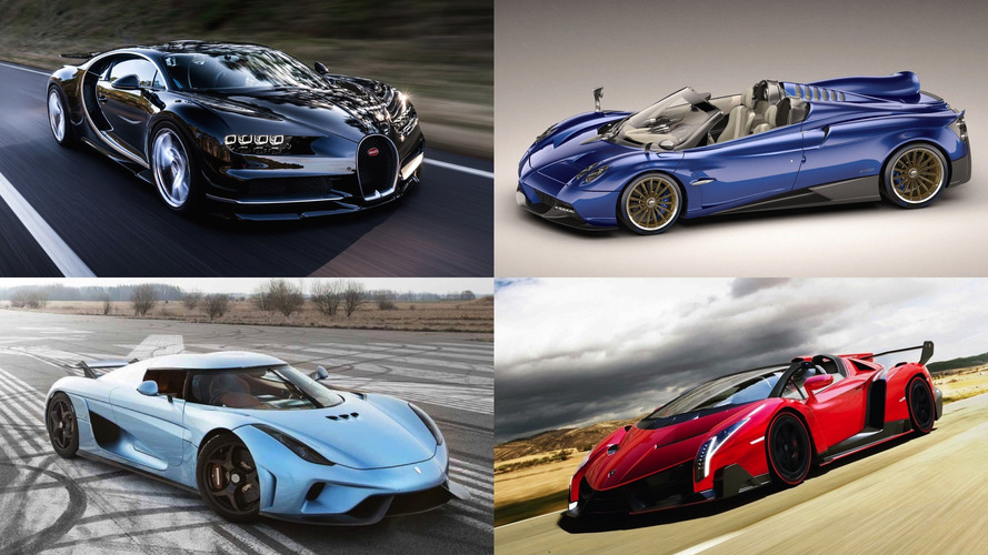 20 Most Expensive New Cars Of 2017