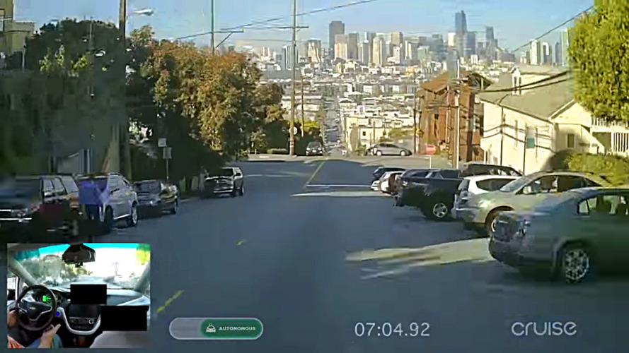 Otonom Chevy Bolt ile San Francisco turu