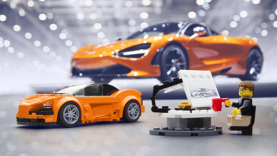 McLaren 720S LEGO Kit Is Your £12.99 Desktop Supercar