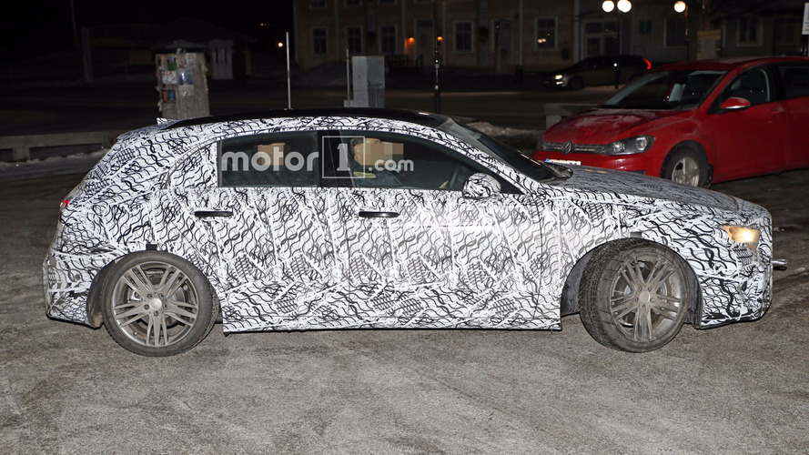 2018 Mercedes A-Class loses heavy camo in latest spy photos