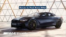 BMW M8 render