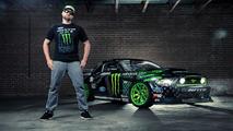 Vaughn Gittin Jr. shows his 845 bhp Ford Mustang RTR [video]