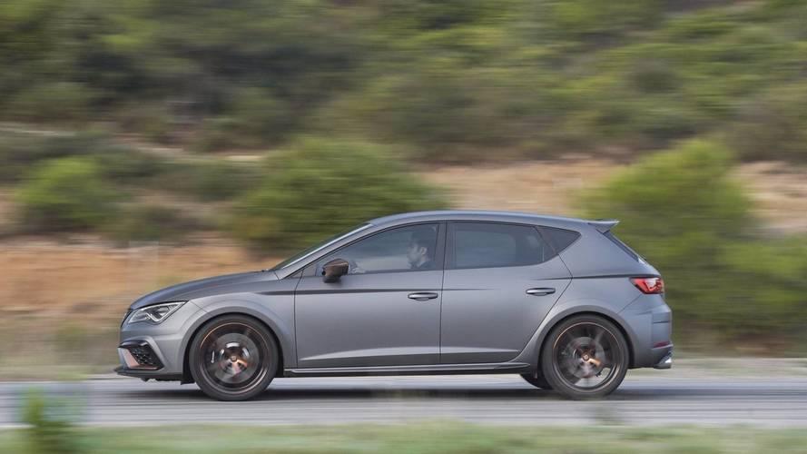 SEAT León CUPRA R 2018 últimas imágenes