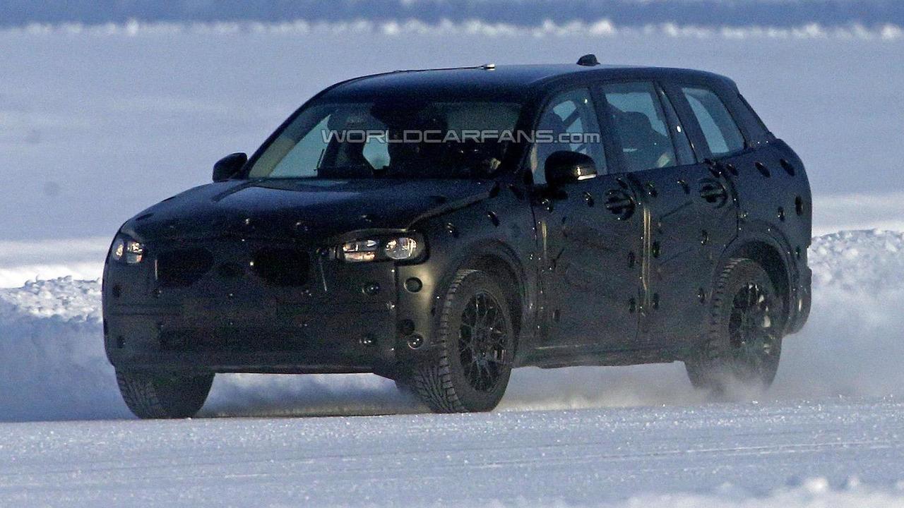2015 Volvo XC90 spy photo