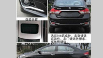 Suzuki Alivio spied totally undisguised, looks bland compared to Authentics concept