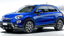 Fiat 500X Coupe render