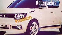 Suzuki iM-4 concept leaked image / SuzukiCars