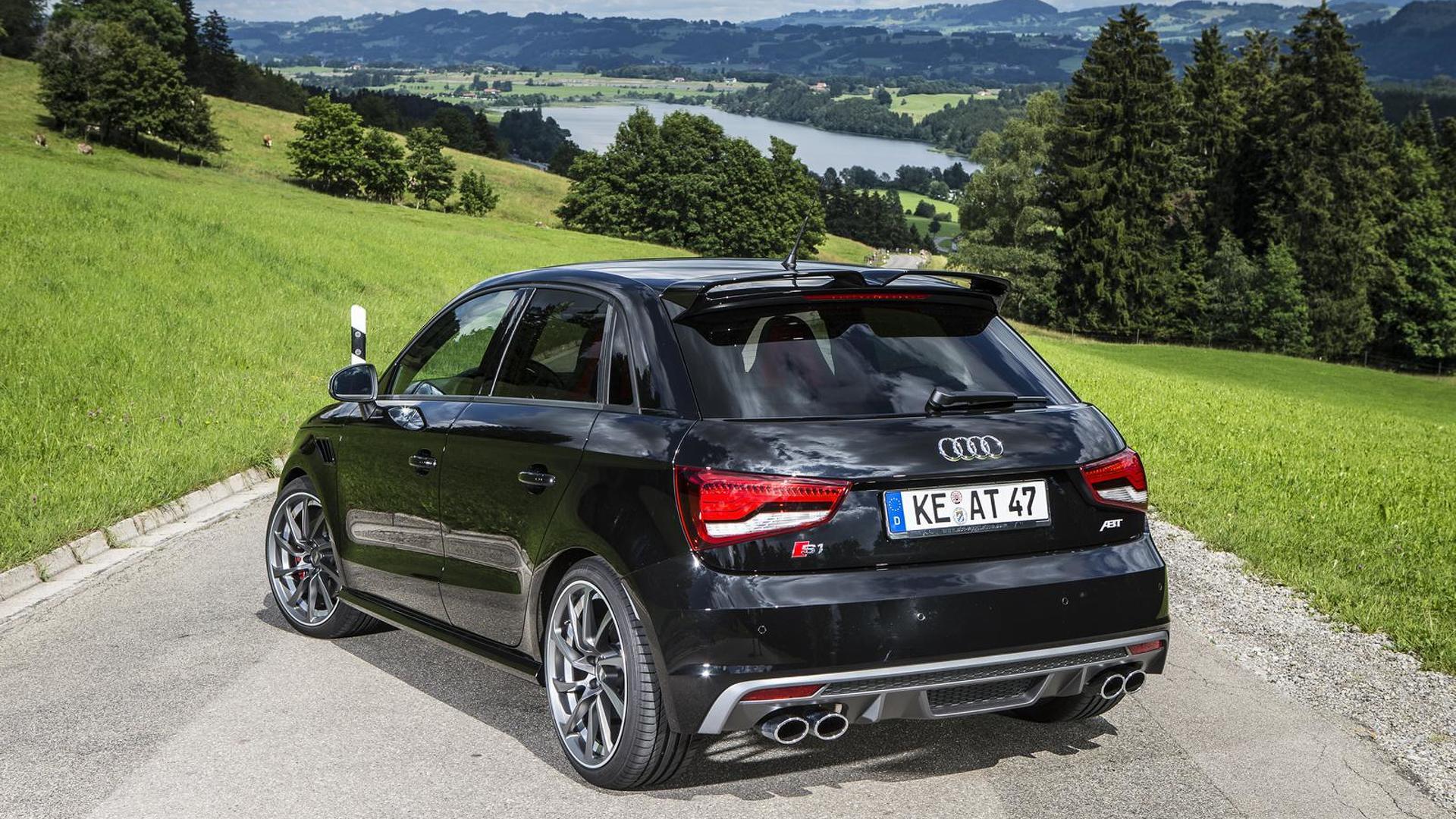 Компактная Audi S1. Тюнинг от ABT Sportsline