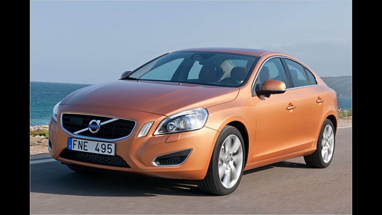 Mittelklasse, 0 bis 50.000 Kilometer: Volvo S60/V60 (2010)