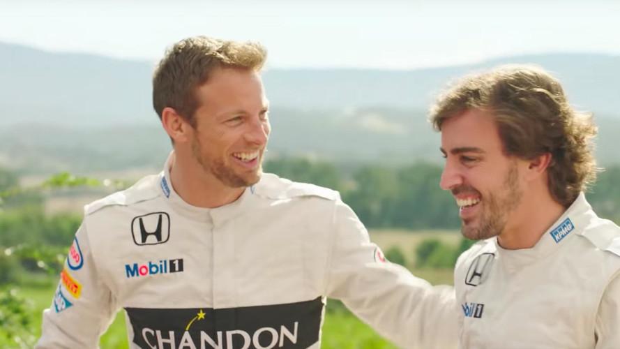 Cinco anuncios de pilotos de F1 que, seguro, recuerdas