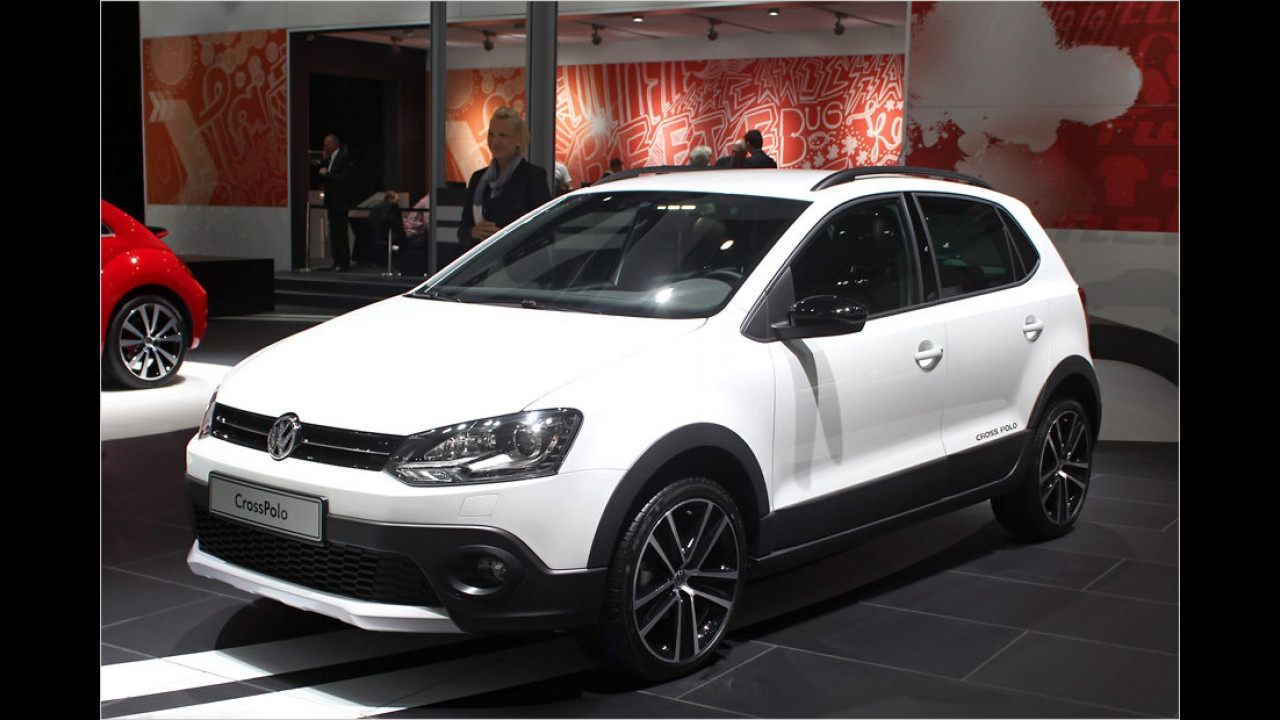 VW CrossPolo Urban White