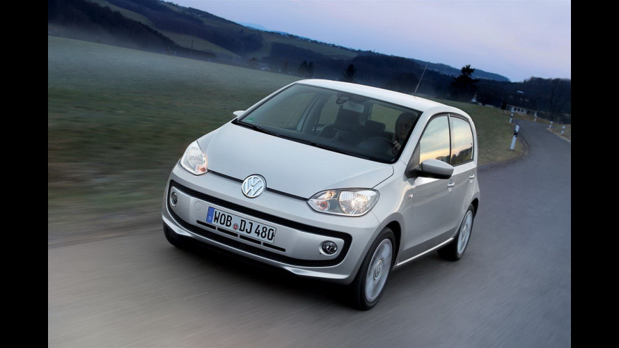 Volkswagen up! EcoFuel high up! 5 porte