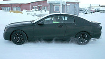 Mercedes CLK Spy Photo