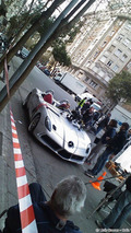 SLR Stirling Moss Edition and Hakkinen Shooting Commercial in Barcelona 23.03.2010