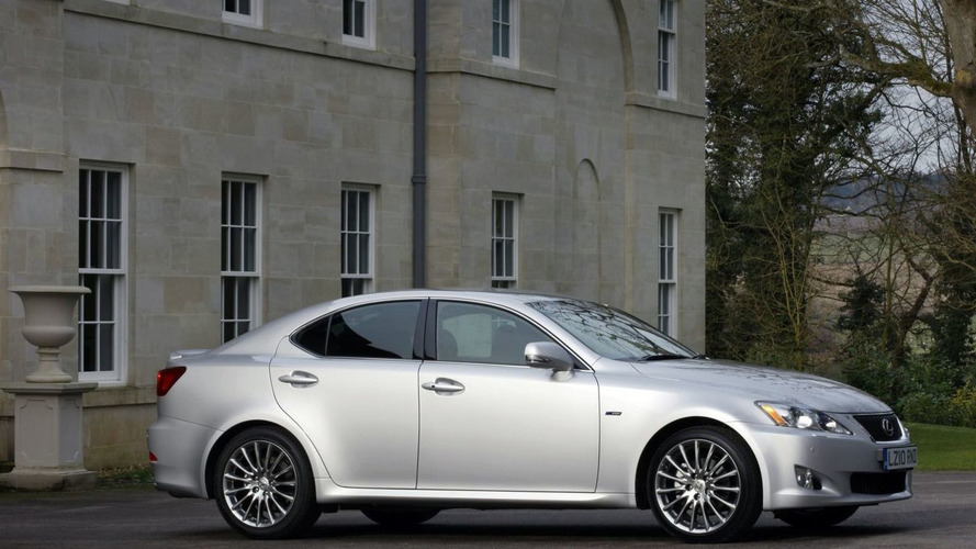 Lexus IS F-Sport Package Announced for UK
