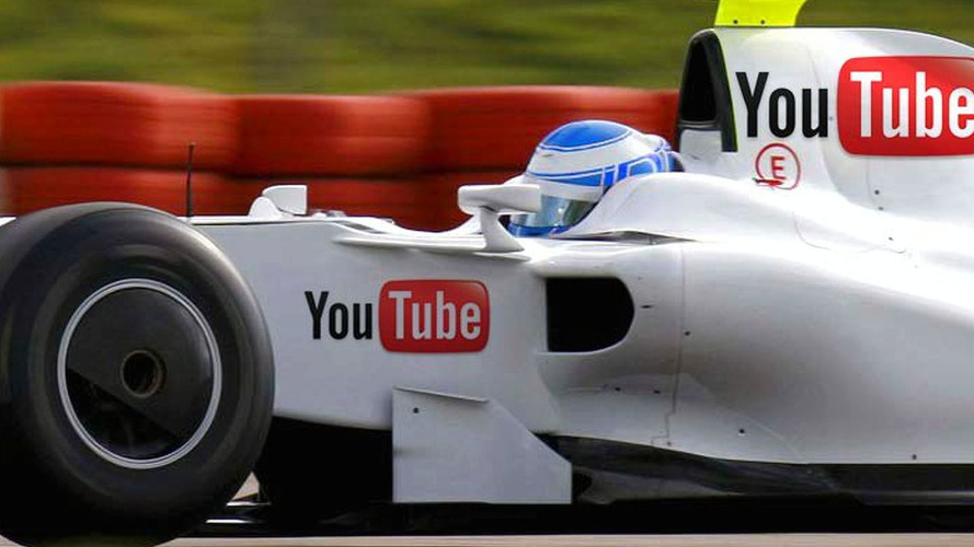 Best Buy to join YouTube on 2010 US F1 livery?