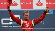 Nico Hulkenberg, ART - GP2 Championship 2009, Rd 9 & 10, Nurburgring, Sunday Podium
