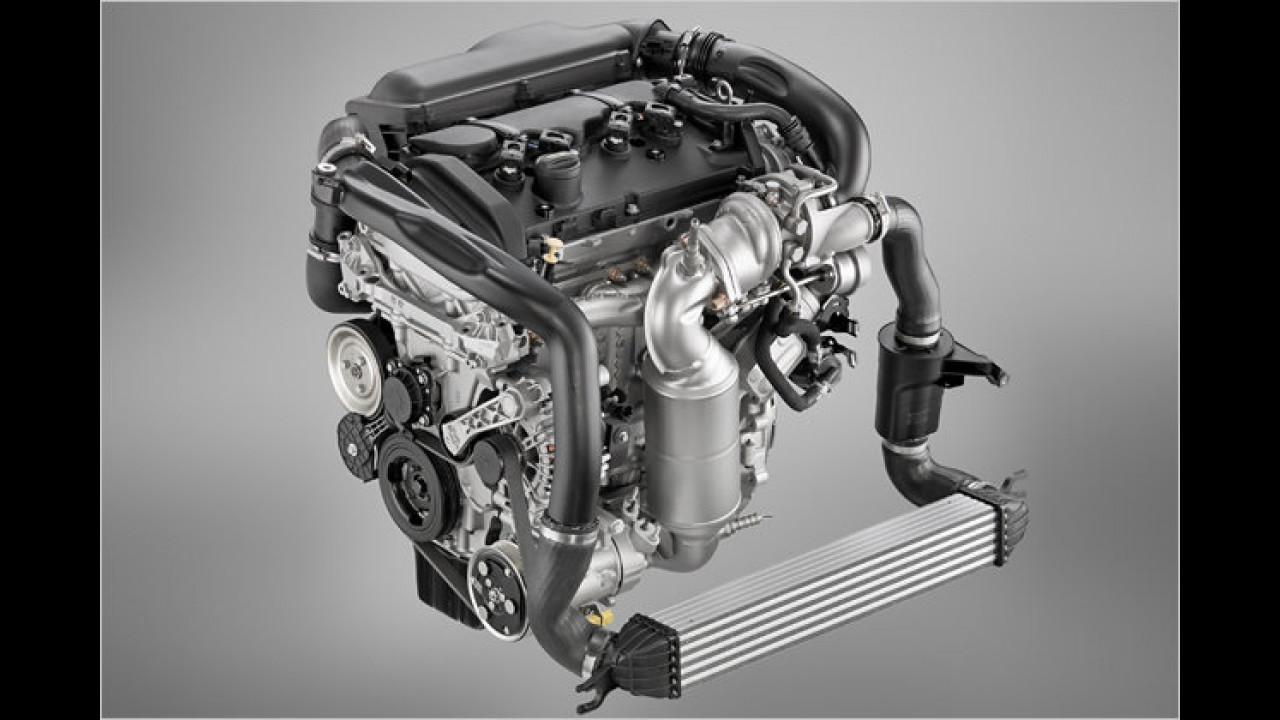 Bester Motor von 1,4 Liter bis 1,8 Liter Hubraum: BMW 1,6-Liter-Turbo