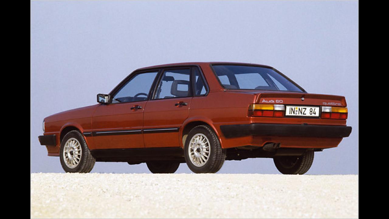 Beinahe schon Kult: Der Audi 80 fuhr 1973 zum Genfer Auto-Salon