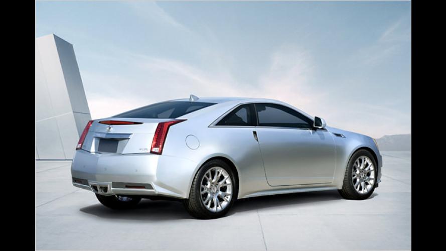 Cadillac stellt die Serienversion des CTS Coupé vor