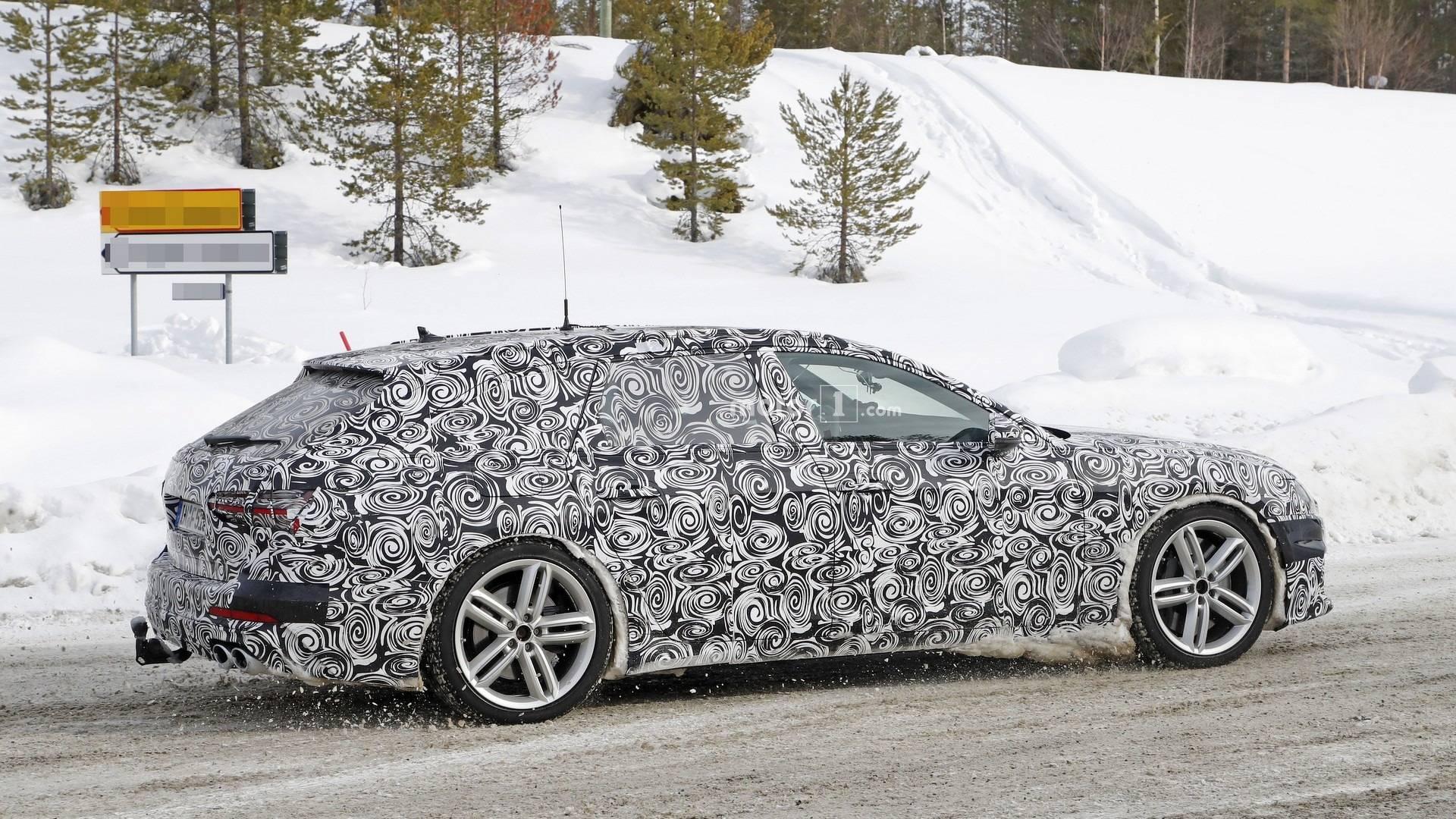 2017 - [Audi] A6 Berline & Avant [C8] - Page 8 2020-audi-s6-avant-spy-photo