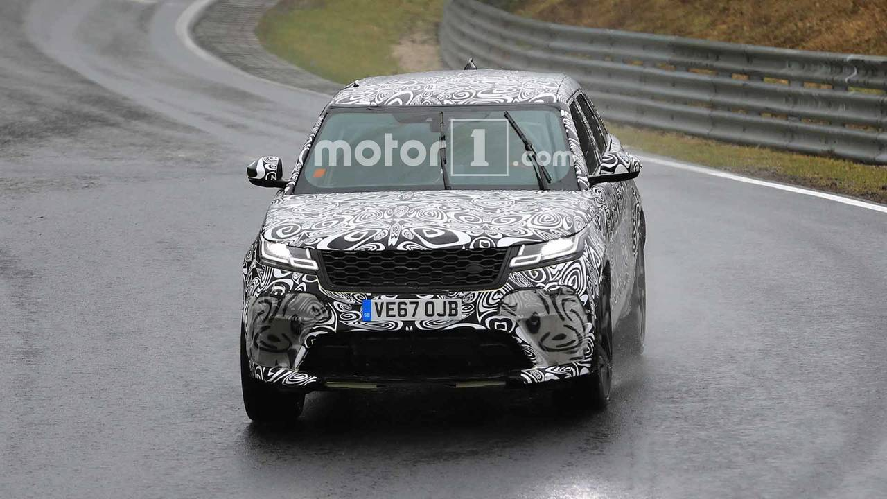Fotos espía Range Rover Velar SVR 2018