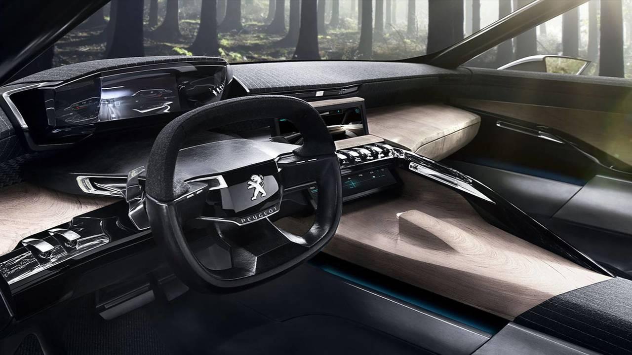5 - Un habitacle inspiré de la Peugeot Exalt