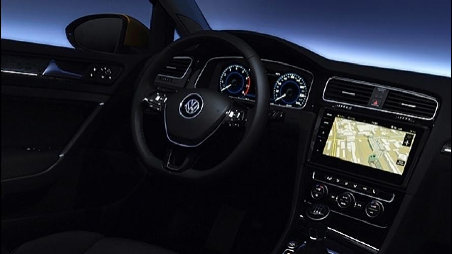 Volkswagen Golf restyling, tutta la tecnologia che c'è