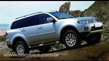Nova Pajero Dakar (ou Nativa) deve ser o lançamento da Mitsubishi no dia 22 de julho no Brasil