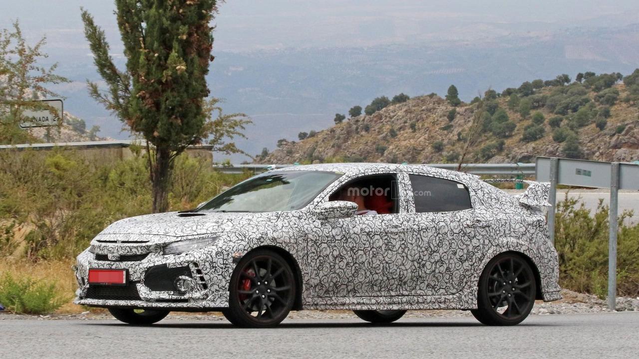 2018 Honda Civic Type R spy photo