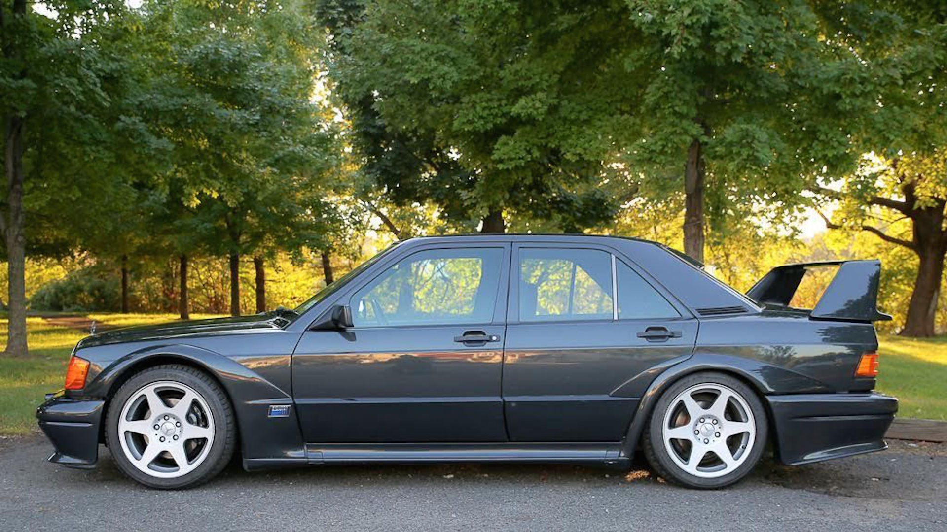 1990 mercedes benz 190e cosworth evo ii on ebay with for Mercedes benz 1990