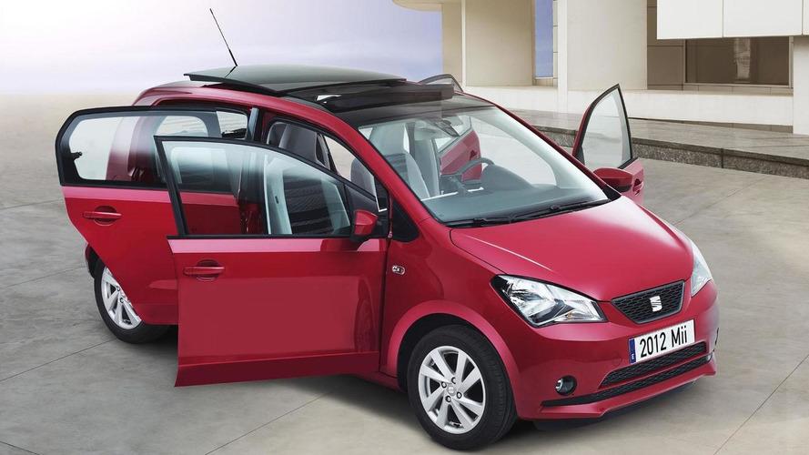 Seat Mii five-door revealed