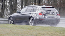 2013 BMW 3-Series Touring spied almost undisguised