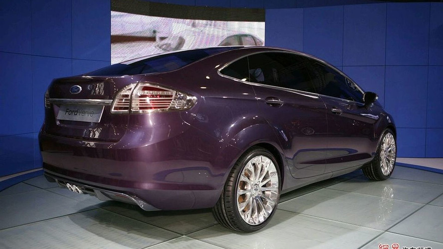 Ford Verve 4-Door Concept Debut in Guangzhou