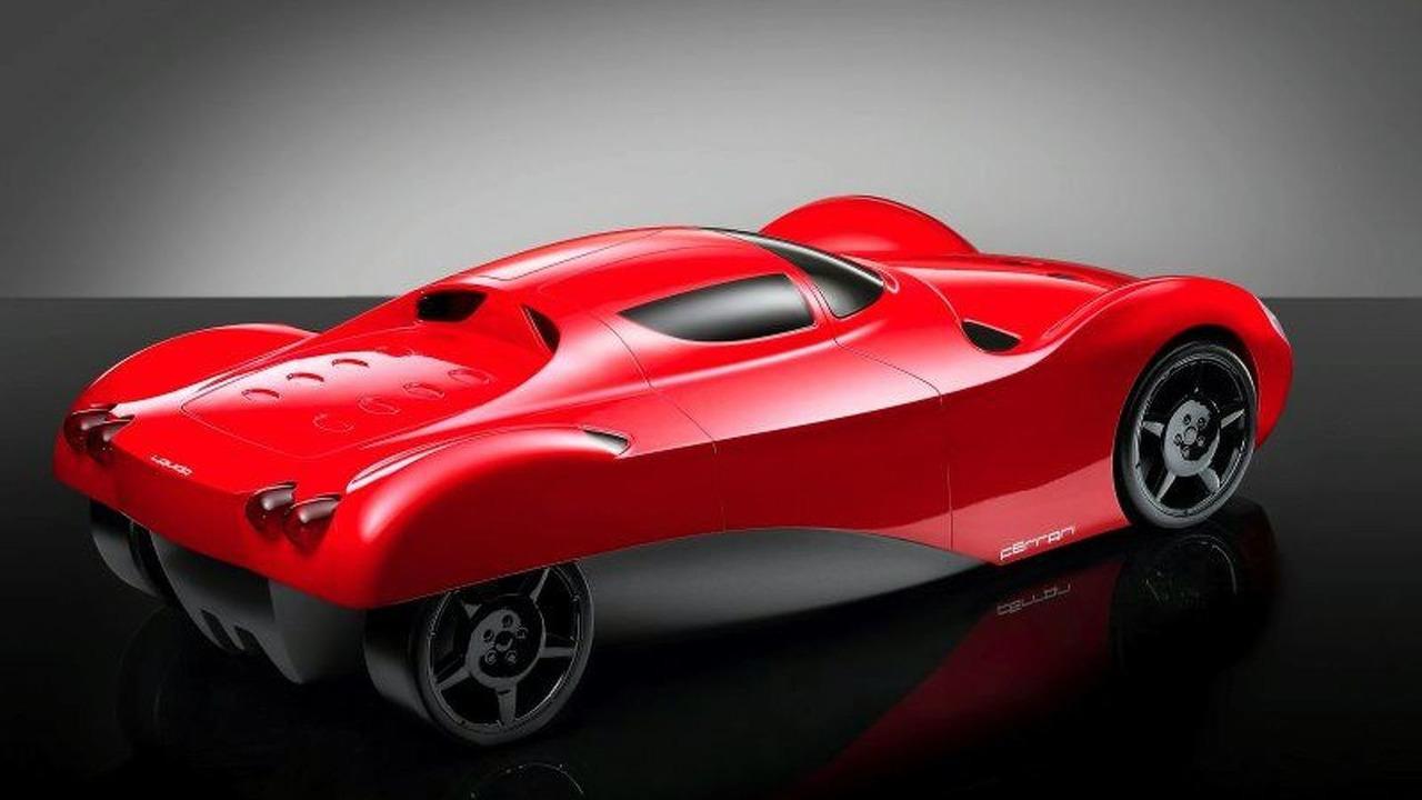 Ferrari Lauda posterior