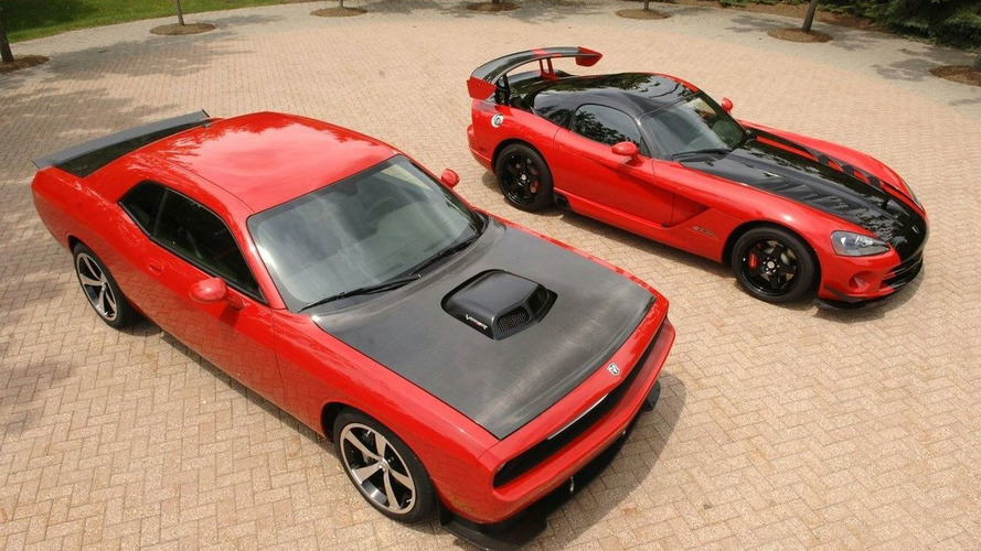 Dodge Challenger SRT10 Concept to Debut in SEMA