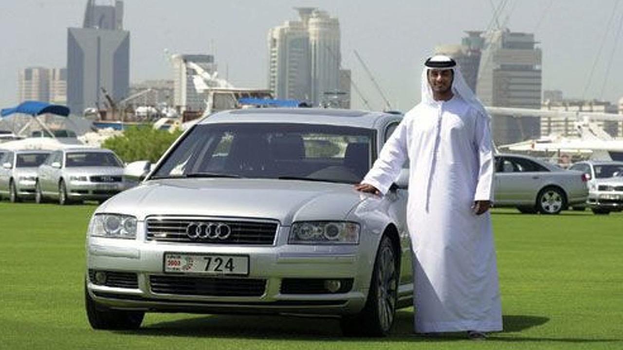 Audi A8 in Dubai