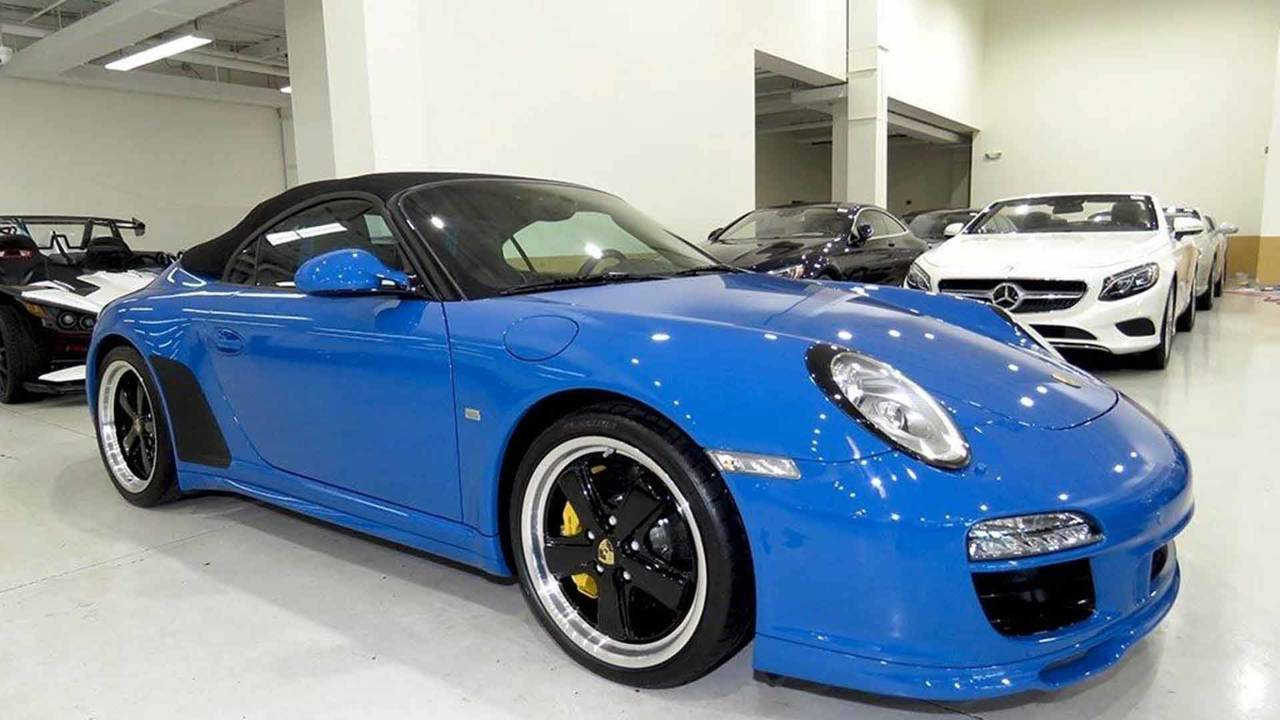2011 Porsche 911 Speedster For Sale Motor1 Com Photos