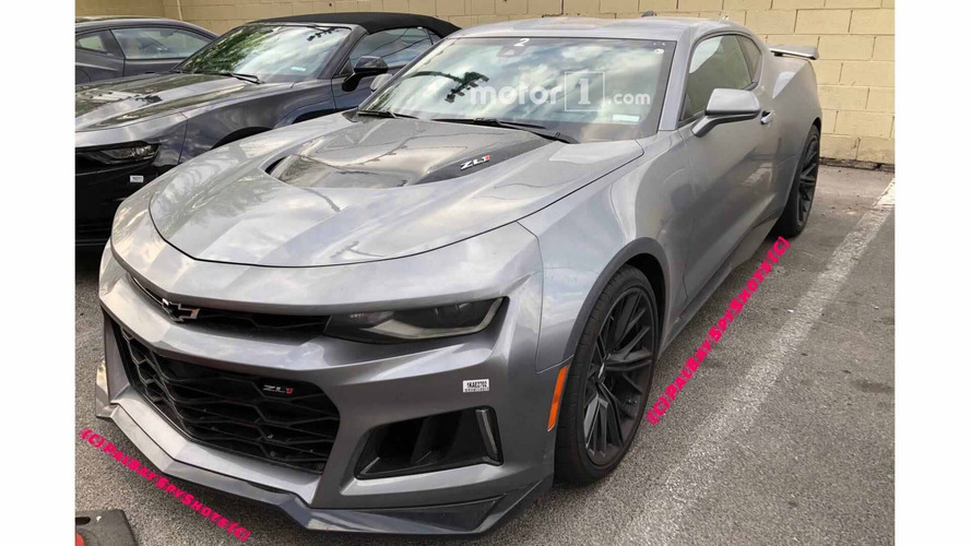 2019 Chevrolet Camaro ZL1 And SS Update Spied