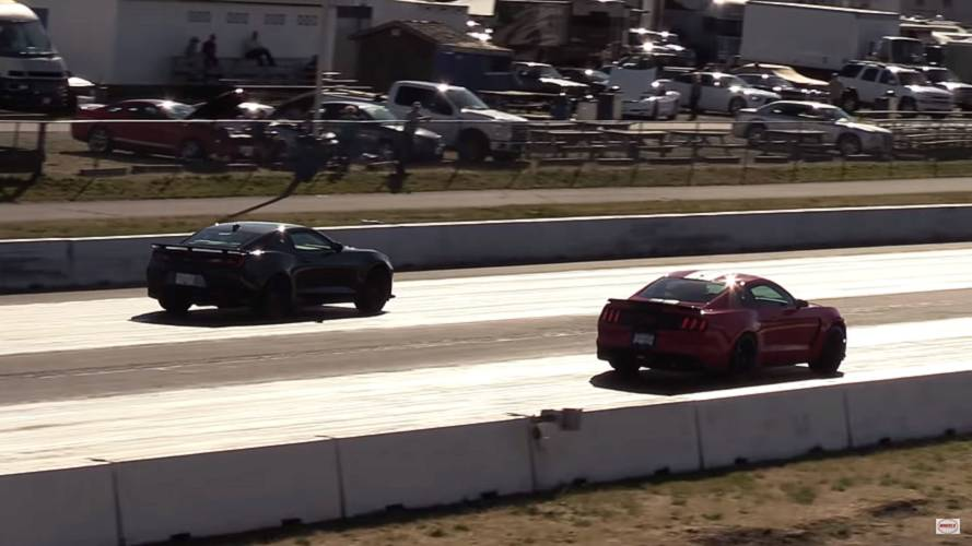 2018 Camaro ZL1 Vs. 2018 Shelby GT350