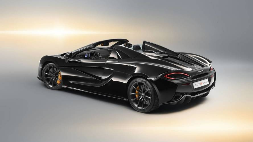 570S Spider Design Edition Is Customized By McLaren's Styling Team