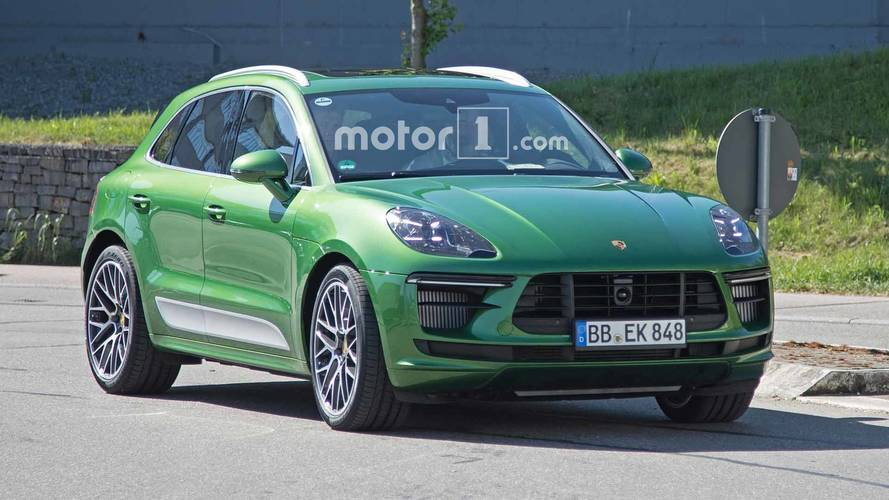 Porsche Macan Spied Looking Very Green During Development