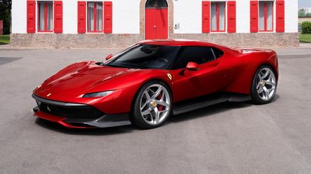 Ferrari SP38 - Un modèle unique inspiré de la mythique F40