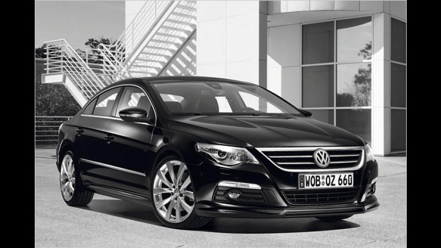 Tuning ab Werk: VW bietet Zubehör für den Passat CC