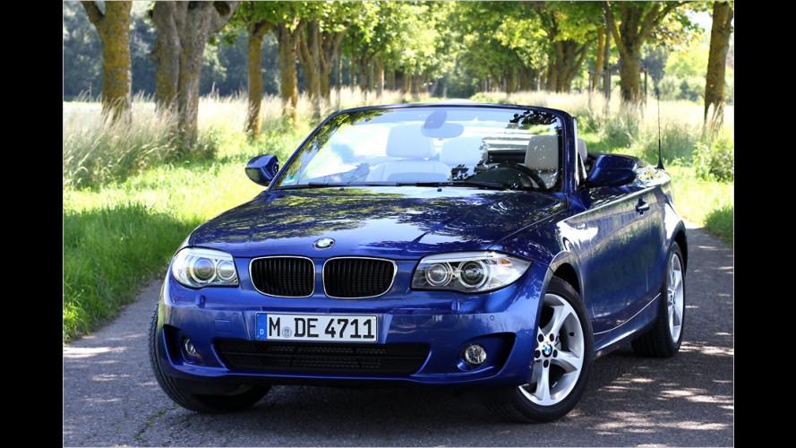 Sportkonzept mit Spargedanke: BMW 120d Cabrio im Test
