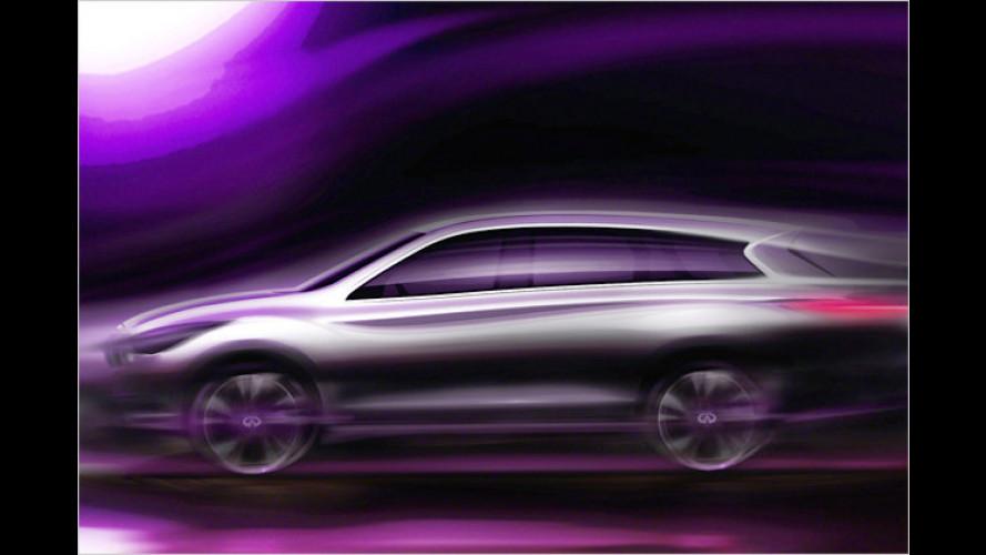Infiniti JX: Luxus-Siebensitzer kommt im Frühjahr 2012