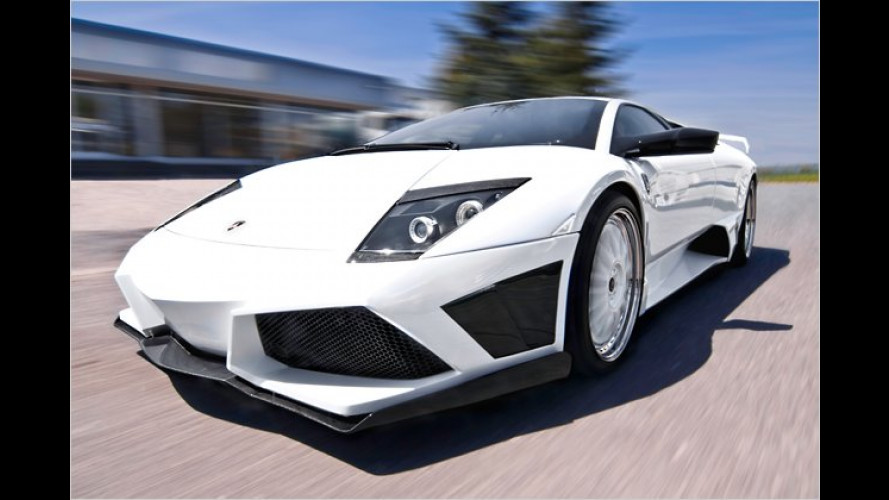 Rasende Fledermaus: 750-PS-Lambo von JB Car Design