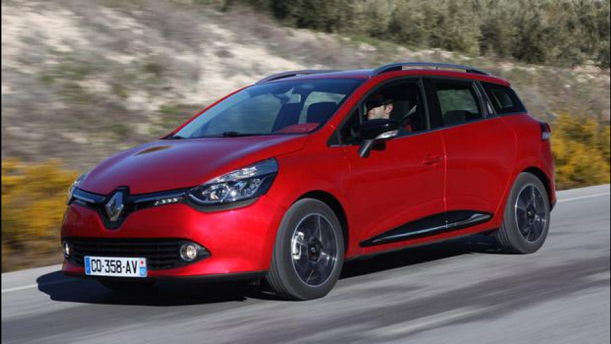 Renault Clio Sporter, station wagon piccola a chi?
