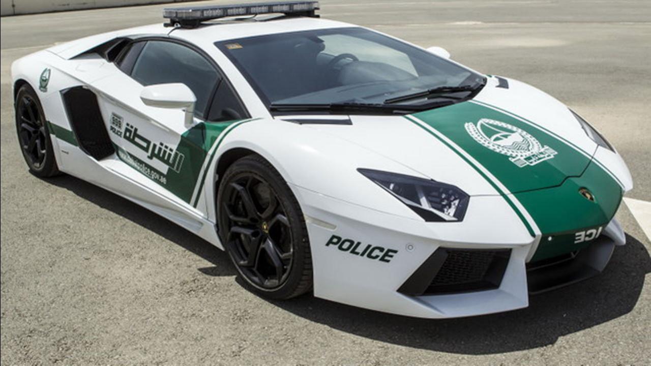 Lamborghini Aventador per la polizia di Dubai